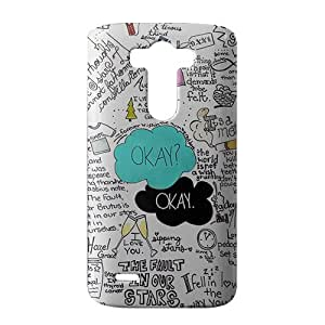 Okay The Fault In Our Stars 3D Phone Case for LG G3
