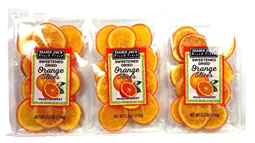 Trader Joes Sweetened Orange Slices