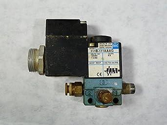 mac valves inc 111b 111aag solenoid valve 110v 50hz 120v. Black Bedroom Furniture Sets. Home Design Ideas