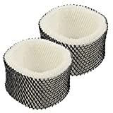 isinlive 2 Pack HWF62 Humidifier Filter Replacement Compatible Holmes, Filter A