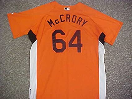 9ff14268045 Bob McCrory Baltimore Orioles Orange Spring Training Jersey at ...