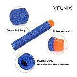Nerf Compatible Darts, VFunix 150-Dart Refill Pack for Nerf N-strike Elite