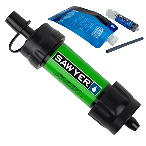 Sawyer Products SP101 Mini Water Filtration System, Single, Green