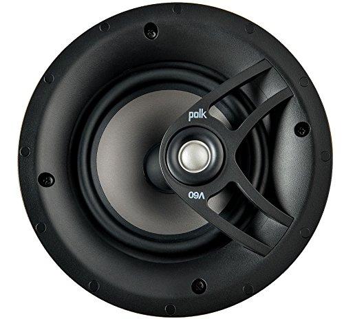 """Polk Audio - 6.5"""" In-ceiling Speakers  - Black"""