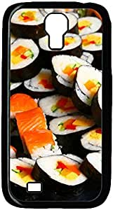 Japanese Sushi Rolls Designed Pattern Protevtive Hard Back Case Cover for Samsung Galaxy S4 I9500