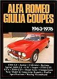 Alfa Romeo Giulia Coupes, 1963-76, R. M. Clarke, 0946489645