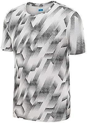 Camisa de compresión para hombre Camisa deportiva para hombre, transpirable, fresca, de secado rápido, camiseta con cuello redondo para ciclismo, entrenamiento, ejercicios, ejercicio 5 colores Para ci: Amazon.es: Hogar