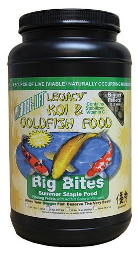 ounce-Pound Pond Microbe-Lift Legacy Big Bites Koi And Fish Food MLLBBMD (Microbe Lift Legacy Koi)