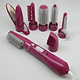 Hair Dryer Machine Comb 7 In 1 Multifunctional Easy Styling Tools...