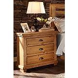 """Progressive Furniture Willow, Distressed Pine, 32"""" x 17"""" x 31"""""""