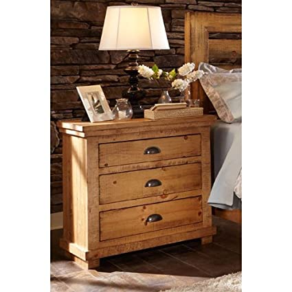 Progressive Furniture Willow, Distressed Pine, 32u0026quot; ...
