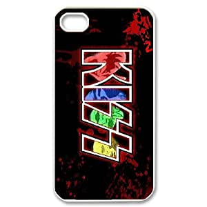 High Quality {YUXUAN-LARA CASE}Kiss Music Band For Iphone 4 4SSTYLE-4