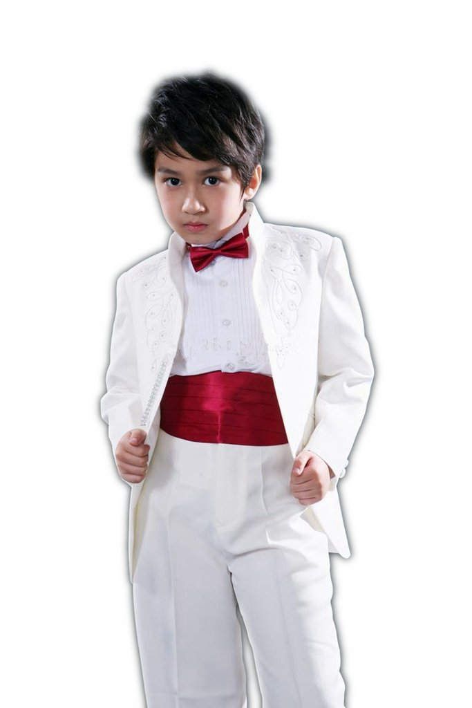 MLT Boy's Two Pieces Party Prom Wedding Suit Set (S)