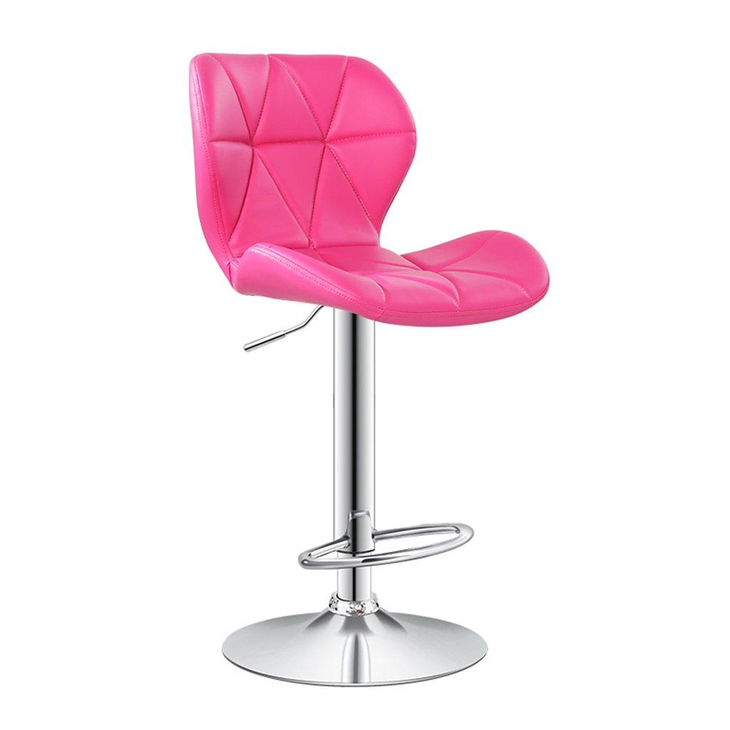 4 ASJHK Chair, Bar Chair Chair Lift Backrest redate Barstool Tall Stool Chair (color    4)