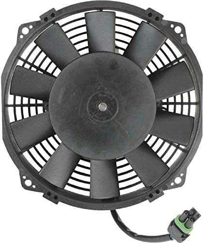 DB Electrical RFM0021 New Radiator Fan Assembly for Bombardier Can-Am 400 Outlander 06 07 08 2006 2007 2008 70-1018 709-200-158 463747