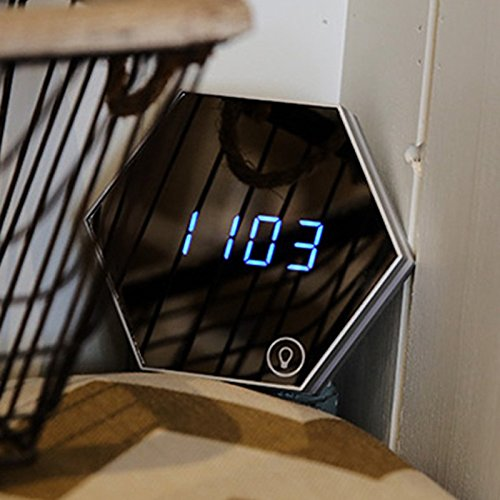 Glass Ncaa Clock - 1