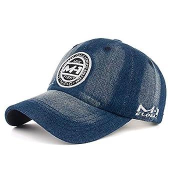 af543fefb6 INF Snapback Cap Demin Baseball Cap 5 Color Jean Badge Embroidery ...