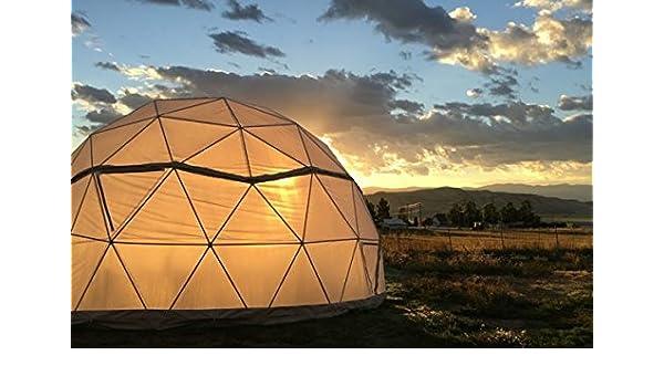 24 de efecto invernadero Vital Cúpulas geodésicos (diámetro cúpula: Amazon.es: Jardín
