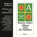 Allmen und die Dahlien (Allmen 3) Audiobook by Martin Suter Narrated by Gert Heidenreich