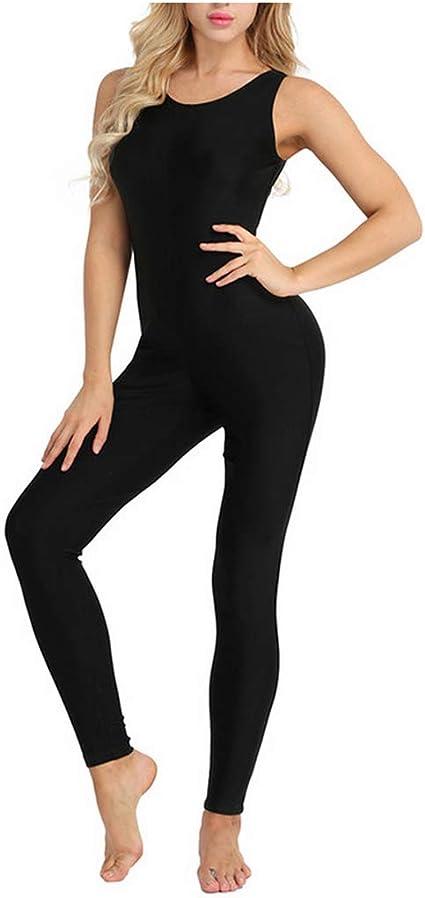 Adult Womens Ballet Leotard Gymnastic Cotton Dancer Unitard Dancewear Bodysuit