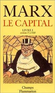 Le Capital - Flammarion : Livre I ( sections V à VIII) par Karl Marx