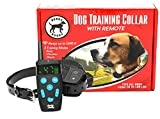 Cheap BuddyBuddy Dog Training Collar Anti Bark Remote Controller Shock Collar for Small Medium Large Dogs, 1600ft Rechargeable Waterproof Dog Training Collar with Beep/Vibration/Electric Shock [2018 New]