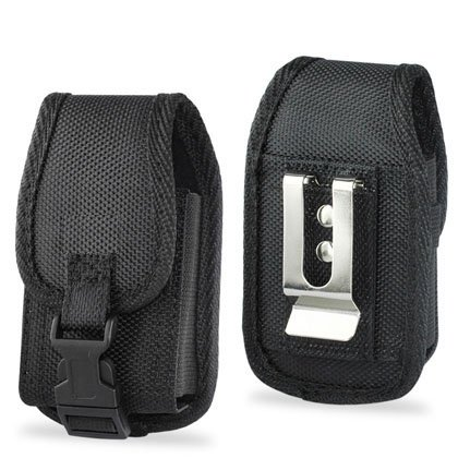 Pouch Protective Carrying Cell Phone Case - Black (Razr V9 Phone)