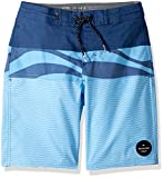 Quiksilver Big Boys' Heatwave Blocked Beachshort, Estate Blue, 27