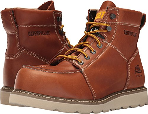 - Caterpillar Men's Tradesman Steel Toe Industrial and Construction Shoe, Tan, 9.5 M US