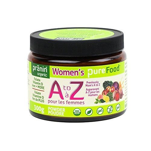 Pranin Organic Women's PureFood A to Z