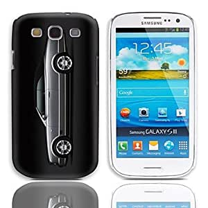 HJZ Car Pattern Hard Case with 3-Pack Screen Protectors for Samsung Galaxy S3 I9300