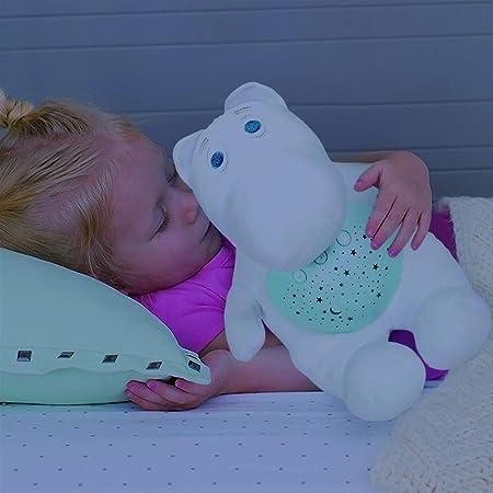 Peluches para Bebes Proyector Hipopotamo Quitamiedos Relajante y ...