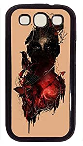 Slim Samsung Galaxy S3 I9300 Case Abstract Painting Call Of The Wild Night II Custom Snap on Fits Hard Back Case for Samsung Galaxy S3 I9300