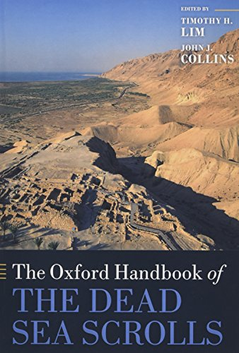 Book cover from The Oxford Handbook of the Dead Sea Scrolls (Oxford Handbooks) by Timothy H. Lim