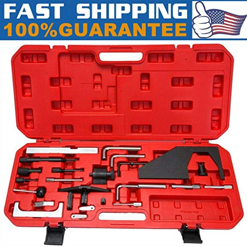 Sodoop Timing Locking Tool Set Kit for Ford Mazda 2.0 2.3, Twin Cam Turbo L3 L3K9 VVT Camshaft Repairing Sprockets Engine Timing Locking Tools Kit for Ford & for Mazda Models(Shipped by USA)