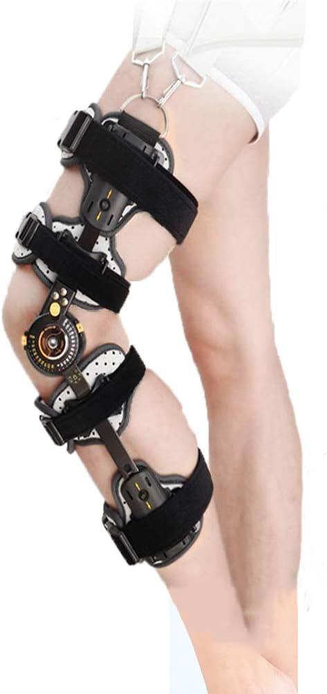 YUXINCAI Poste Ajustable OP Patella Lesiones Inmovilizador Soporte ROM Bisagra Rodillera Ideal para ACL/Ligamento/Lesiones Deportivas