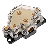 MagiDeal Car Audio Stereo Amp Power Ground Wire Splitter Distribution Block