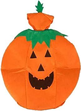 Calabaza Disfraz de Halloween Traje de Cosplay Vestido de calabaza ...