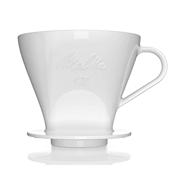 Melitta PorteFiltre En Porcelaine Préparation De à Tasses - Porte filtre café