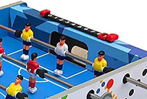 Futbolines Juegos De Futbol Futbolín Tablero De Fibra De Madera Club De Acero Inoxidable No Se Deforma Fácilmente Durable Diseño De Algodón Anticolisión. Regalo para Niños Futbolines: Amazon.es: Hogar