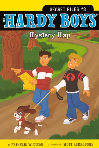 Mystery Map (Turtleback School & Library Binding Edition) (The Hardy Boys Secret ()