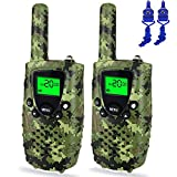Ourdoor Toys for 3-12 Year Old Boys, Dable Long Range Walkie Talkies for Kids Toys for 3-12 Year Old Boys Toys for 3-12 Year Old Girls Gifts for 3-12 Year Old Boy Gifts for Teen Girls Green DBXJB01