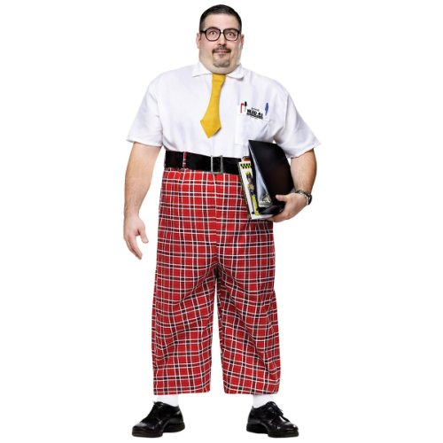 NERD 50'S ADULT PLUS - Nerd Pants Costume