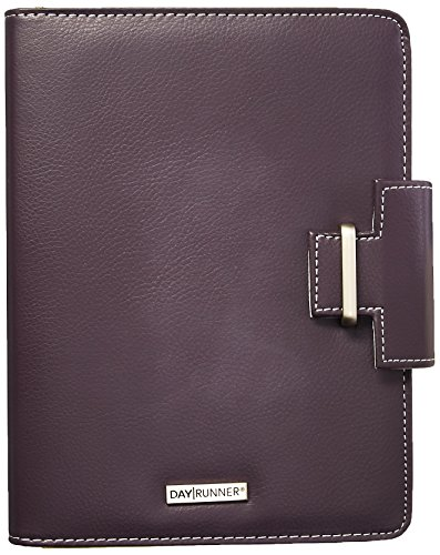 Day Runner 4010214 Terramo Refillable Planner, 5 1/2 x 8 1/2, Eggplant by Day Runner
