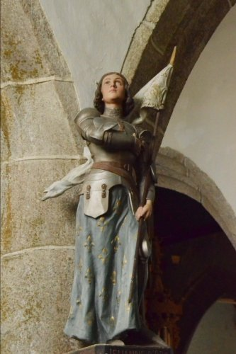 Jeanne D'Arc Statue Journal: 150 Page Lined Notebook/Diary (Arc Statue)