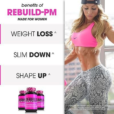 SHREDZ Limitless Supplement Stack for Women, Rebuild-PM + Focus, Boost Focus During the Day, Sleep Better at Night (30 Day Supply) by SHREDZ (Image #8)