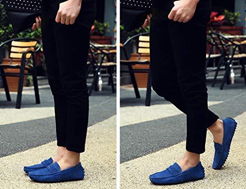Uomo 40 Femaroly Basse Scarpe Blu Sapphire Stringate 7PwwURxqa