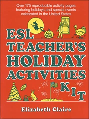 amazon esl teachers holiday activities kit elizabeth claire