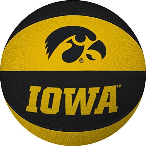 Iowa Hawkeyes Mini Rubber Basketball