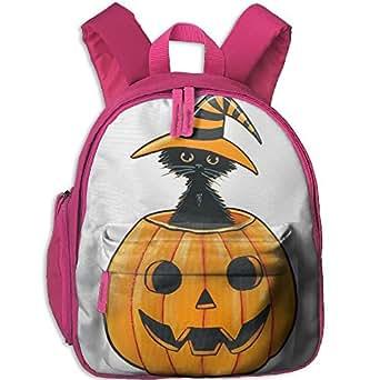 Halloween Bookbag School Backpack Lightweight Durable Insulated Shoulder Bag Kids Student Bag For Pre School Children/Toddler